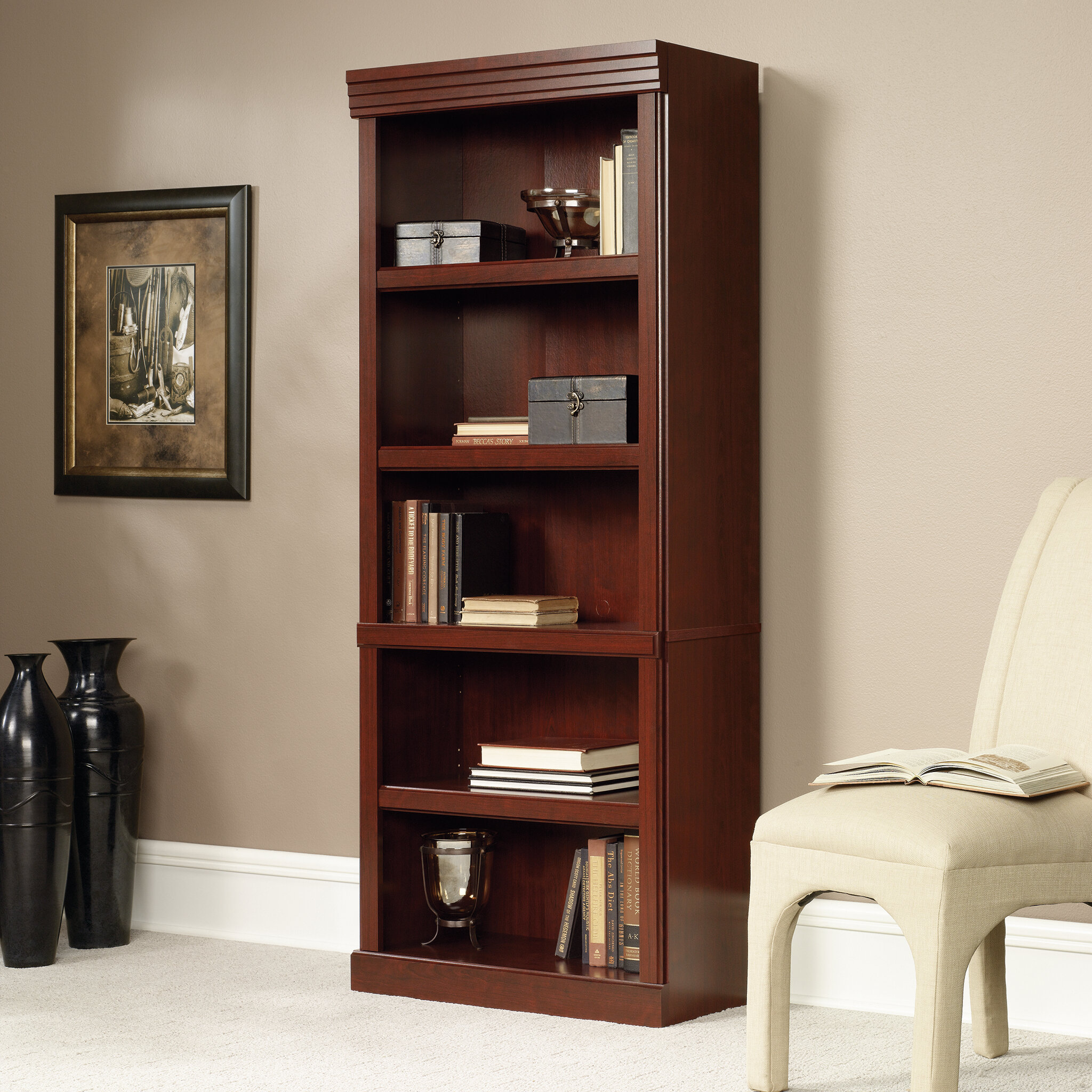 Darby Home Co Clintonville Standard Bookcase Reviews Wayfair