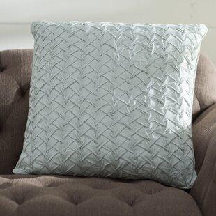 Lilas Cotton Voile Throw Pillow
