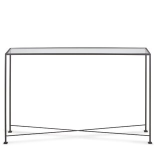 TAG Diversey Glass Console Table