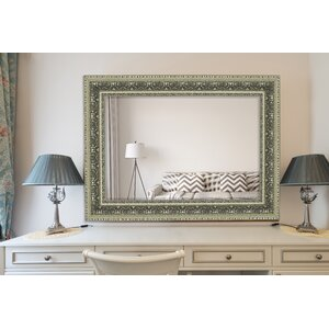 Venetian Washed Silver Wall Mirror