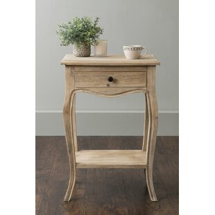 August Grove Steinbeck End Table with Storage