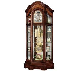 Majestic II Lighted Corner Curio Cabinet by Howard Miller®