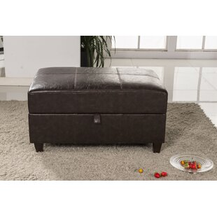 Bellasario Collection Elegant Classic Buckled Wood Storage Bench