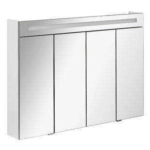 Twindy 110cm X 78.5cm Surface Mount Mirror Cabinet By Fackelmann