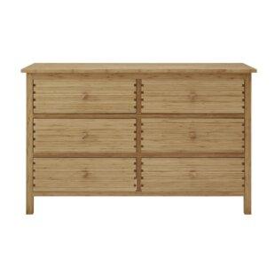 Hosta 6 Drawer Double Dresser by Greenington