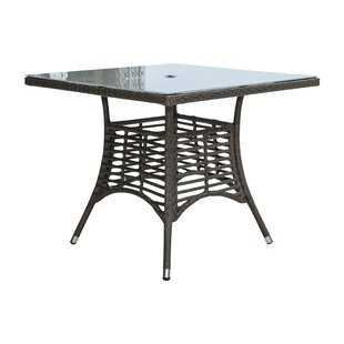 Graphite Glass Dining Table