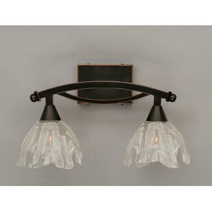 Best Reviews Blankenship 2-Light Vanity Light By Fleur De Lis Living