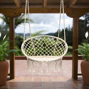Bungalow Rose Cottle Hanging Rope Swing Chair