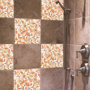 Home Decor Line 7.9 X 7.9 Vinyl Peel U0026 Stick Mosaic Tile In Pearl (Set Of  3) By WallPops!