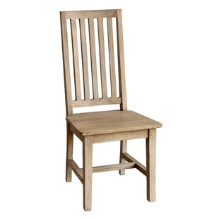 Kissling Solid Wood Dining Chair (Set of 2)