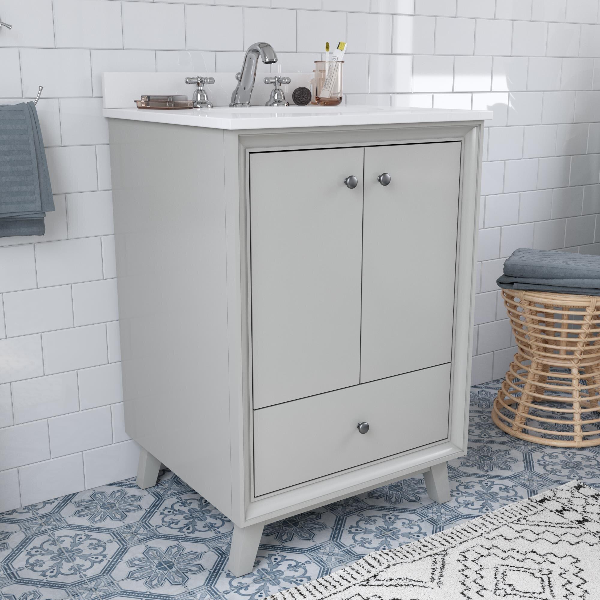 Wood Dorel Living Bathroom Vanities You Ll Love In 2021 Wayfair