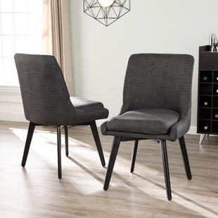 Defiance Upholstered Dining Chair (Set of 2) Ivy Bronx