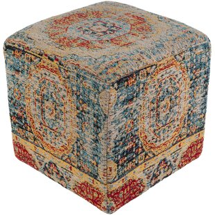 Find a Cordele Pouf By Bungalow Rose