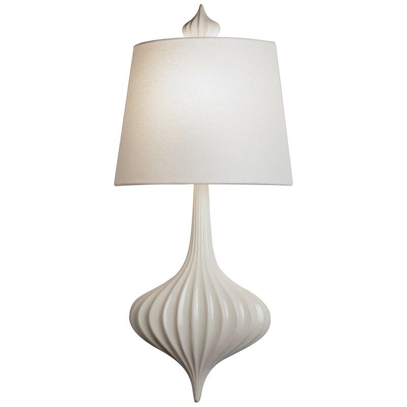 Jonathan Adler Ceramic 1-Light Flush Mount
