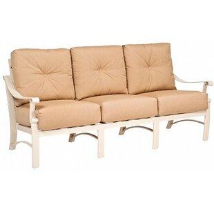 Woodard Bungalow Sofa with Cushions