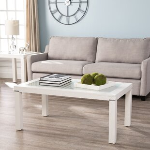 Orren Ellis Arbyrd Parsons 3 Piece Coffee Table Set