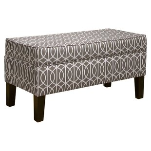 Skyline Furniture Nichola Upholstered Storage Bench