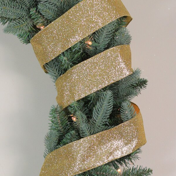 CHRISTMAS RIBBON FINE HESSIAN BROWN GOLD WIRE EDGED CRAFT GIFT WRAPPING /'JUTE/'