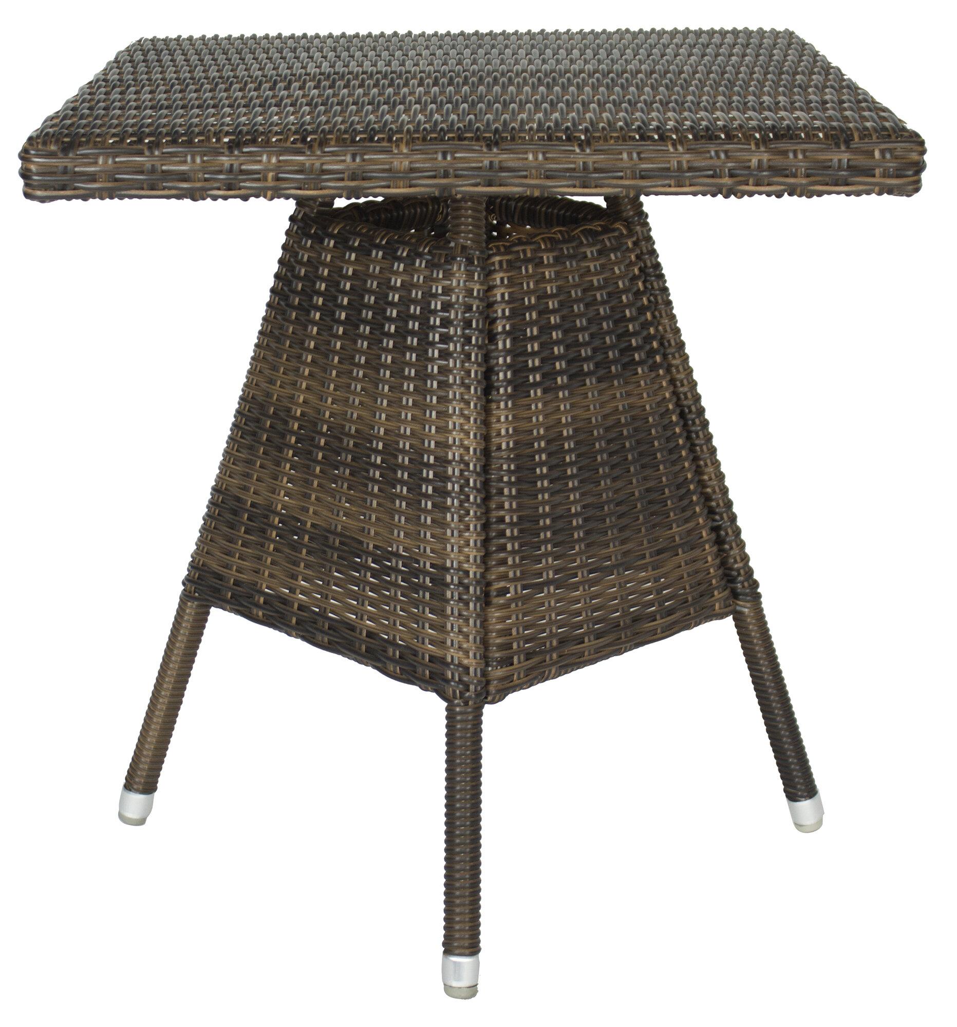Latitude run heldt square bistro table wayfair watchthetrailerfo