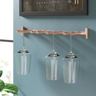 Jalynn Wall Mounted Wine Glass Rack By 17 Stories