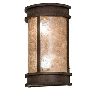 Greenbriar 2 Light Wyant Pocket Lantern Wall Sconce