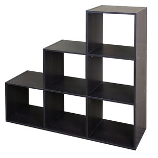 Modern Wood Stackable 6 Standard Bookcase by Home Basics