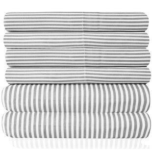 The Twillery Co. Newt Microfiber Quality Classic Stripe Sheet Set