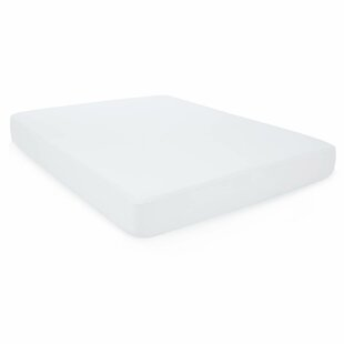 Jersey Fitted Hypoallergenic Waterproof Mattress Protector by Alwyn Home
