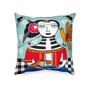 Callison Handmade Picasso Inspired Indoor/Outdoor Cotton Throw Pillow