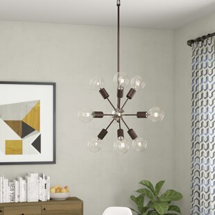 Langley Street Alsfeld 9-Light Sputnik Chandelier