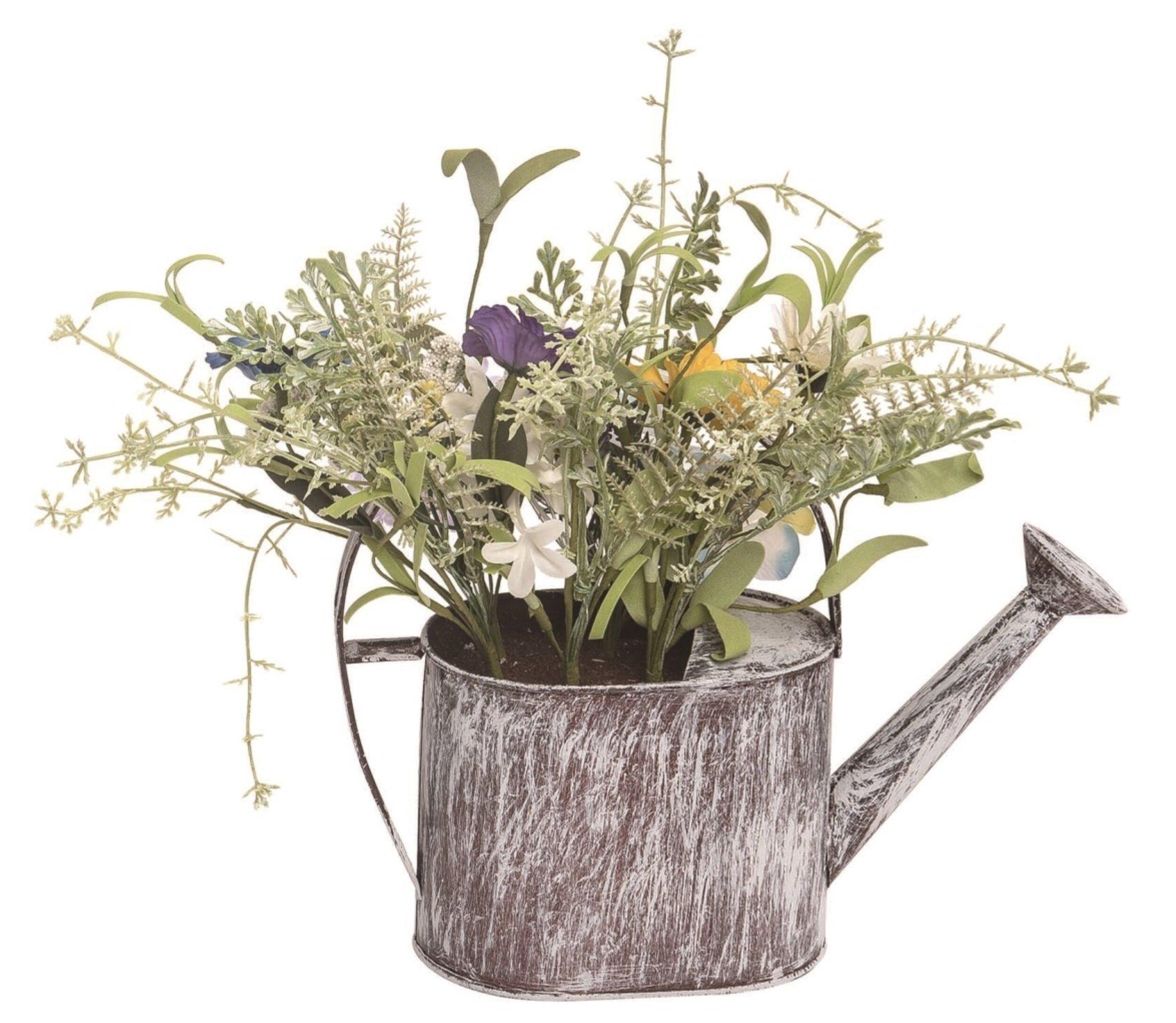 Ophelia Co Mixed Floral Arrangement In Pot Wayfair