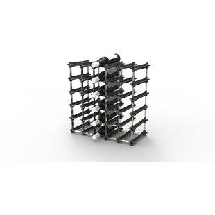 Huntsberry 30 Bottle Tabletop Wine Rack b..