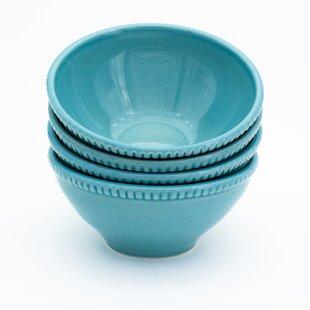 Teal Cereal Bowl | Wayfair