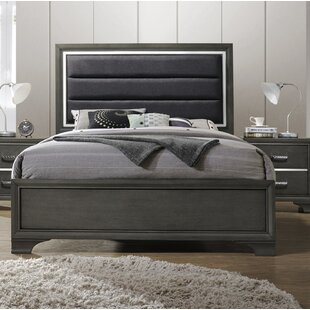 Ivy Bronx Hunedoara Upholstered Panel Bed