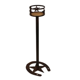 India Iron Western Star Band Pub Table by Millwood Pines