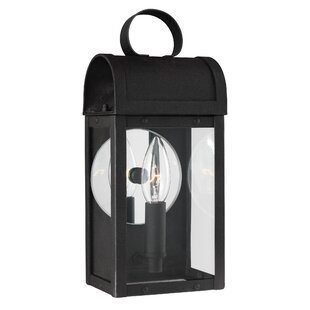 Brayden Studio Orpheus 1-Light Outdoor Wall Lantern