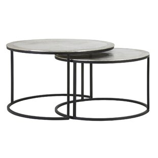 Free S&H Conerly 2 Piece Coffee Table Set