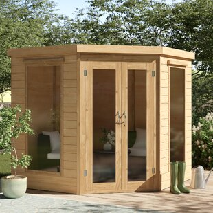 Methuen 7 X 7 Ft. Shiplap Summer House By Sol 72 Outdoor