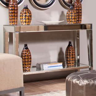 Maui Mirrored Console Table