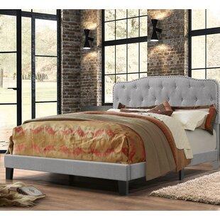 Charlton Home Summerhill Upholstered Panel Bed