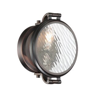 Williston Forge Harley 1-Light Flush Mount