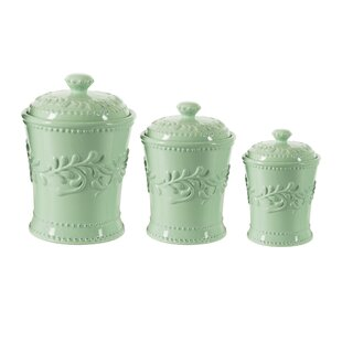 Mint Green Kitchen Canisters | Wayfair