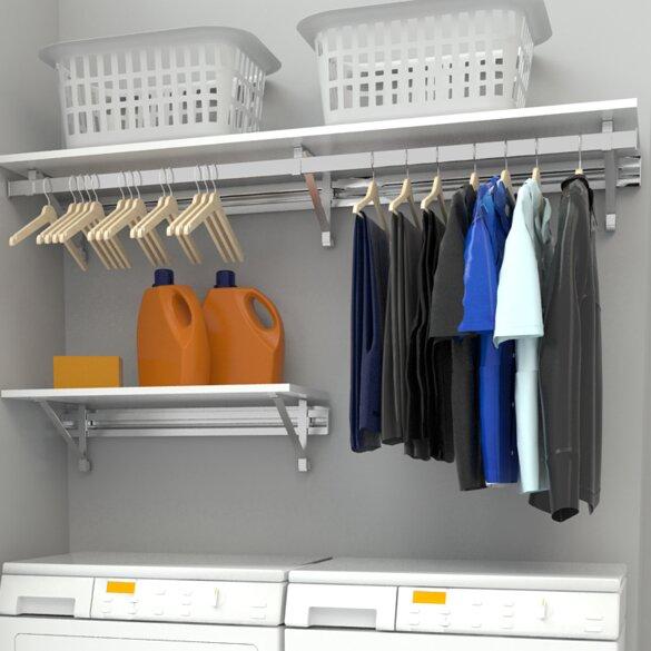 Orginnovations Inc Arrange A E Heavy Duty Laundry Room Organizer Reviews Wayfair