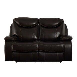 Red Barrel Studio Aarav Upholstered Dual Reclining Loveseat