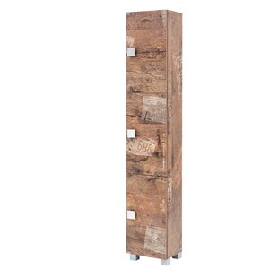 Hugo 30 X 168cm Free Standing Tall Bathroom Cabinet