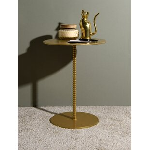 Delisle Pedestal End Table by Mercer41