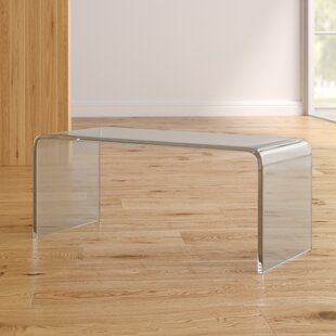 Valadez Coffee Table with Tray Top by Mercury Row