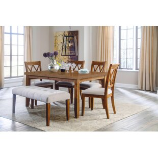 Rodas Indoor 6 Piece Dining Set Gracie Oaks