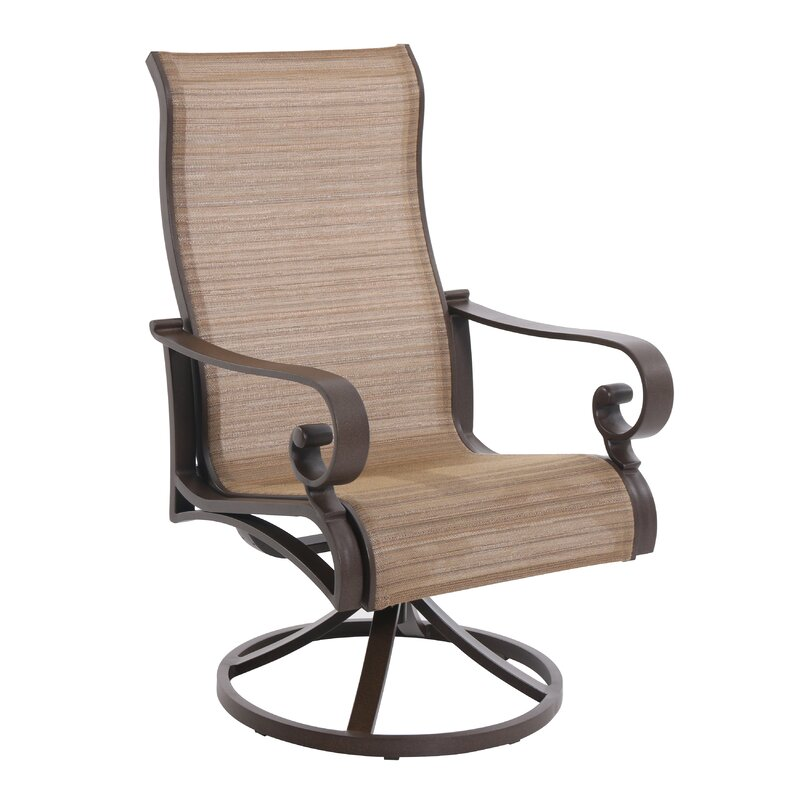 Rivera Swivel Patio Dining Chair Set Of 2