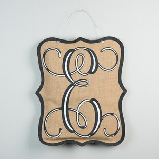 1-Line Wall Address Plaque by Glory Haus